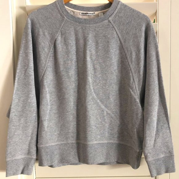 Country Road Size Small Grey Windcheater Jumper